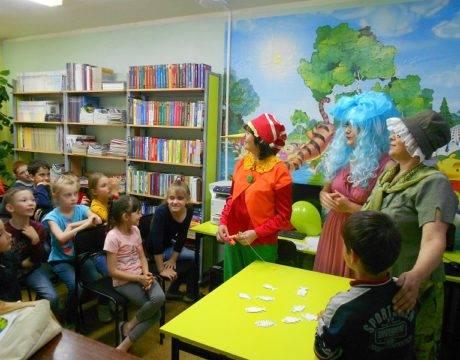 Литературный праздник Золотой ключик детства