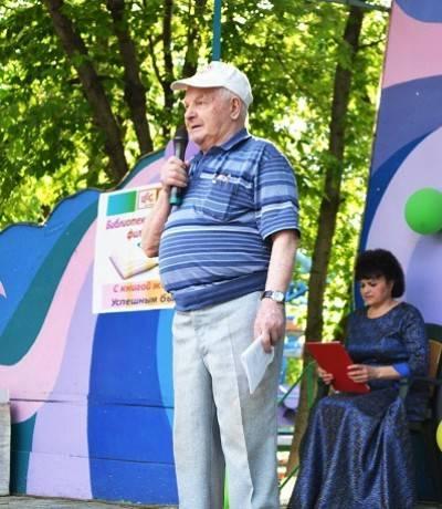 Поэт Леонид Горбунов