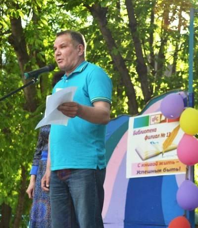 член Союза писателей Татарстана, поэт Айрат Суфиянов