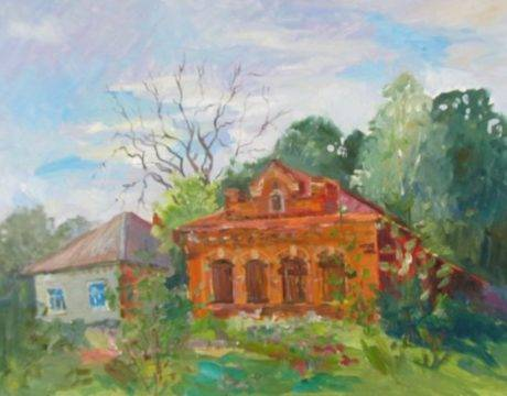 Ирина Фугалевич Благовещенская церковь в Яранске