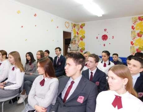 Учащиеся гимназии №77